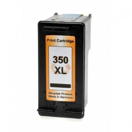 Tinteiro Compatível HP 350XL Preto