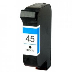 Tinteiro Compatível HP 45XL Preto (51645A)
