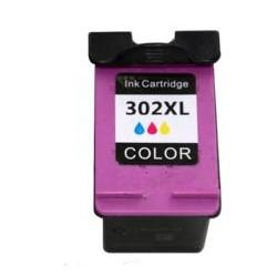 Tinteiro Compatível HP 302XL Colorido (C9352C)