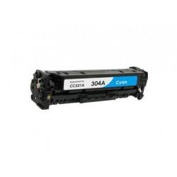 Toner Compatível HP 304A Azul (CC531A)