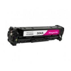 Toner Compatível HP 304A Magenta (CC533A)