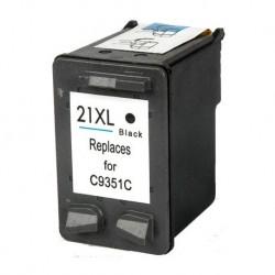 Tinteiro Compatível HP 21XL Preto (C9351C)