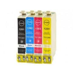 Pack 4 Tinteiros Epson Compatível T1281/2/3/4 (T1285)
