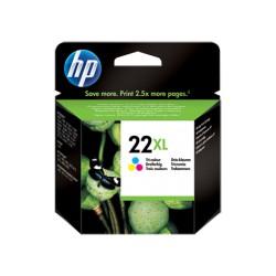 Tinteiro HP 22XL Colorido (C9352C)