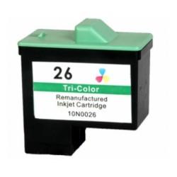 Tinteiro Compatível Lexmark Nº 26 Colorido (10N0026)