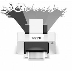 Impressão Preto A4