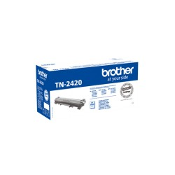 Toner Compatível Brother TN2420 Preto C/Chip