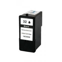 Tinteiro Compatível Lexmark 32 Preto (18C0032)