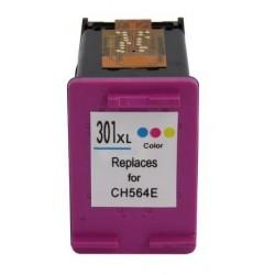 Tinteiro Compatível HP 301XL Colorido (CH564E)